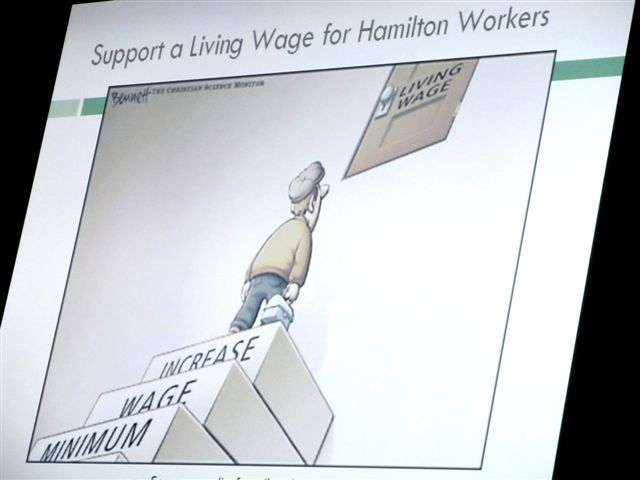 Support a Living Wage for Hamilton Workers